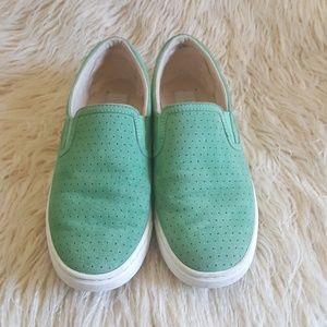 Mint UGG shoes